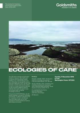 2018 ecologies of care