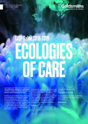 2019 ecologies of care